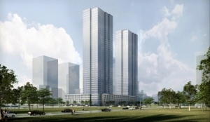 Rendering of Fisher Development Associates 33 Park Avenue.