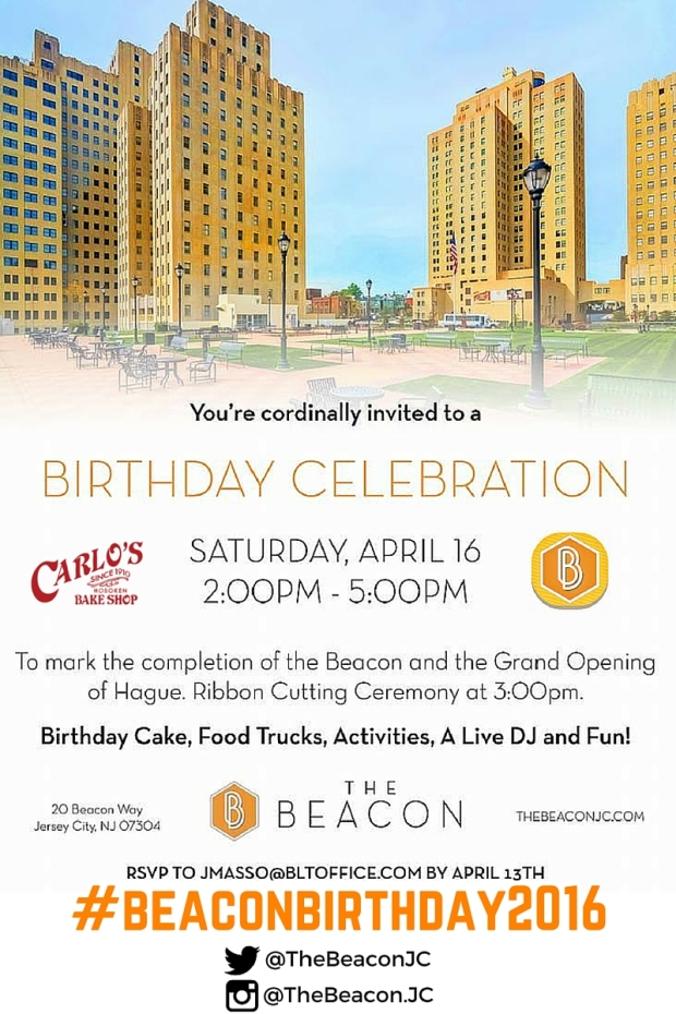 Beacon Birthday Flyer