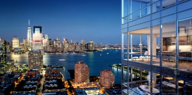 A Nearly Completed 45 Story Residential Tower In Downtown Jersey City Now Has Name And Launch Timeline Fisher Development Associates Chosen The