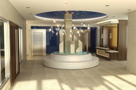 3 Journal Square Lobby