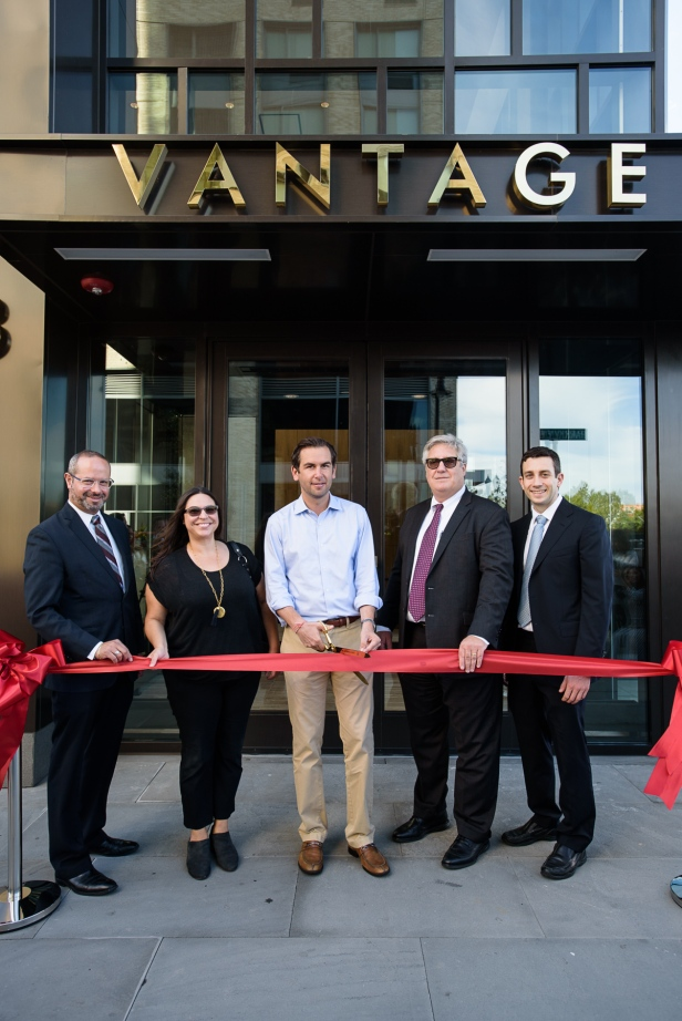 Vantage Ribbon Cutting Photo