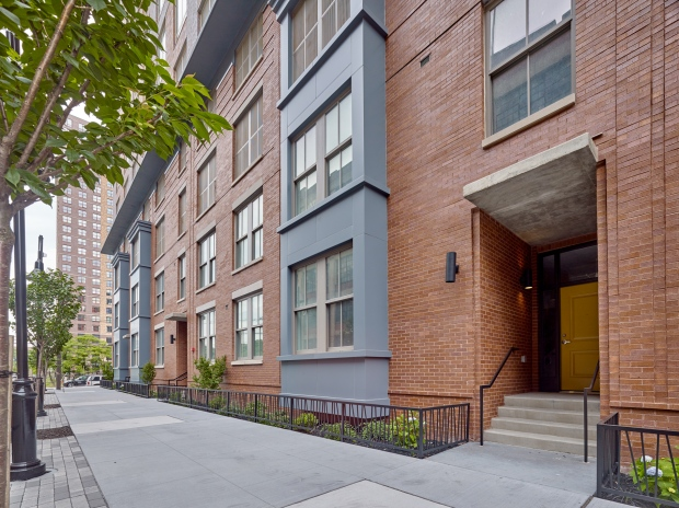 Soho Lofts Townhome Exterior