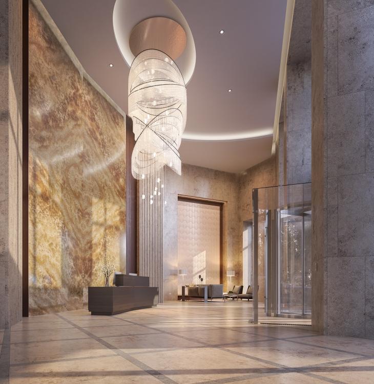 99 Hudson Lobby