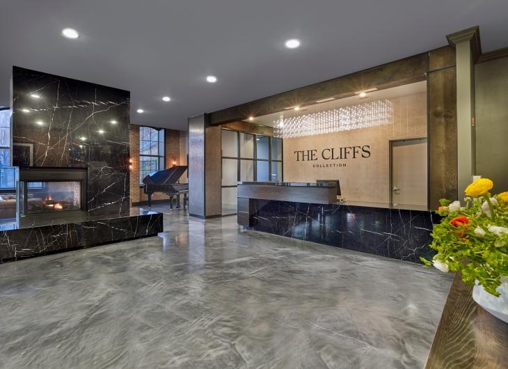 The Cliffs Lobby 2