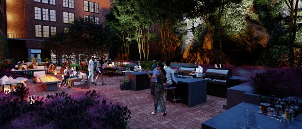 The Cliffs Patio Rendering 2
