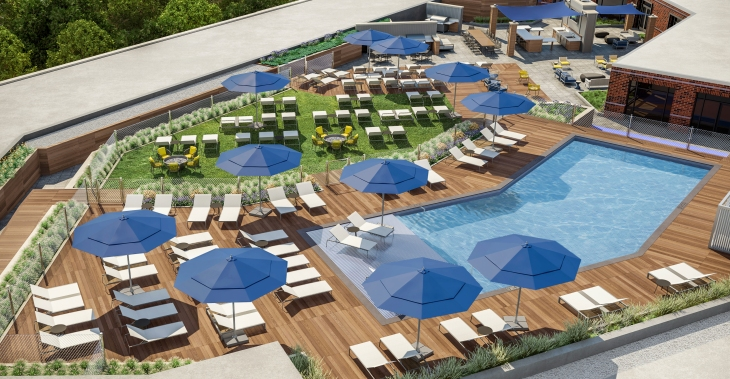 The Enclave Outdoor Terrace-Pool