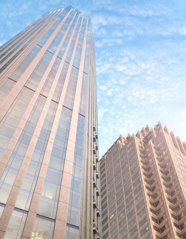99 Hudson Vertical View